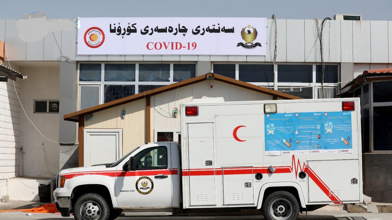 ارتفاع الإصابات بكورونا فى إقليم كردستان بالعراق لـ37907 حالات