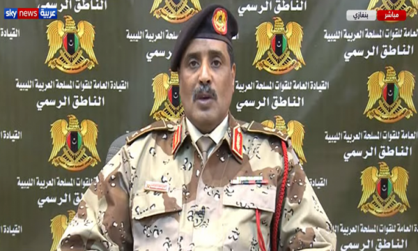 الجيش الليبى يعلن فرض منطقة حظر جوى فوق مدينة سرت