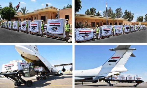 فيديو  وصول طائرة المساعدات الطبية المصرية إلى الكونغو وزامبيا