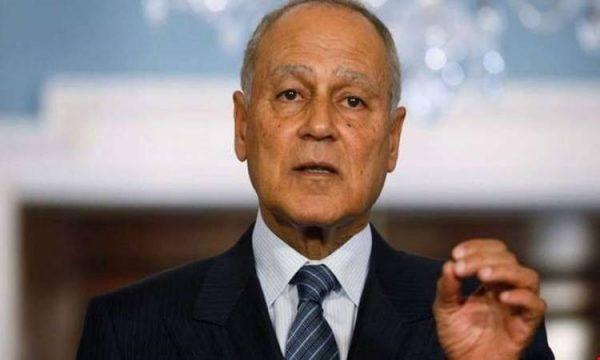 أبو الغيط يناشد العالم لمساندة لبنان فى نكبته