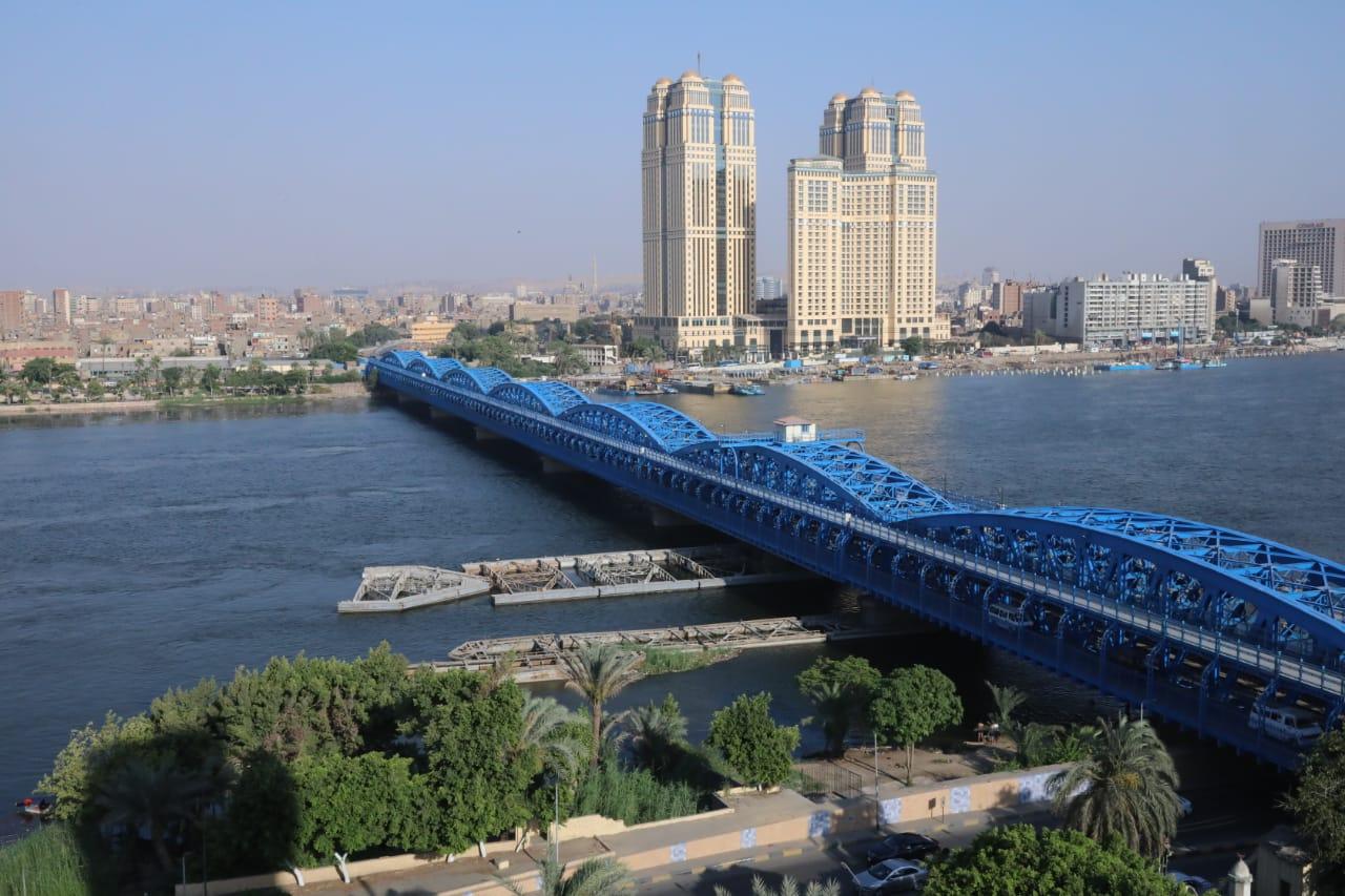 صور| وزير النقل: الانتهاء من مشروع رفع كفاءة وتجديد وتطوير كوبري إمبابة الأثري على النيل