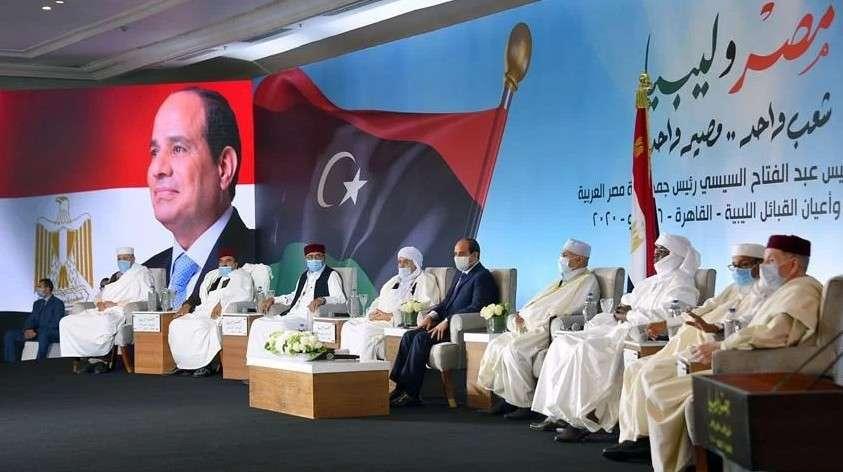 القبائل الليبية تطالب الرئيس السيسي بتدخل الجيش المصرى حال الهجوم على سرت