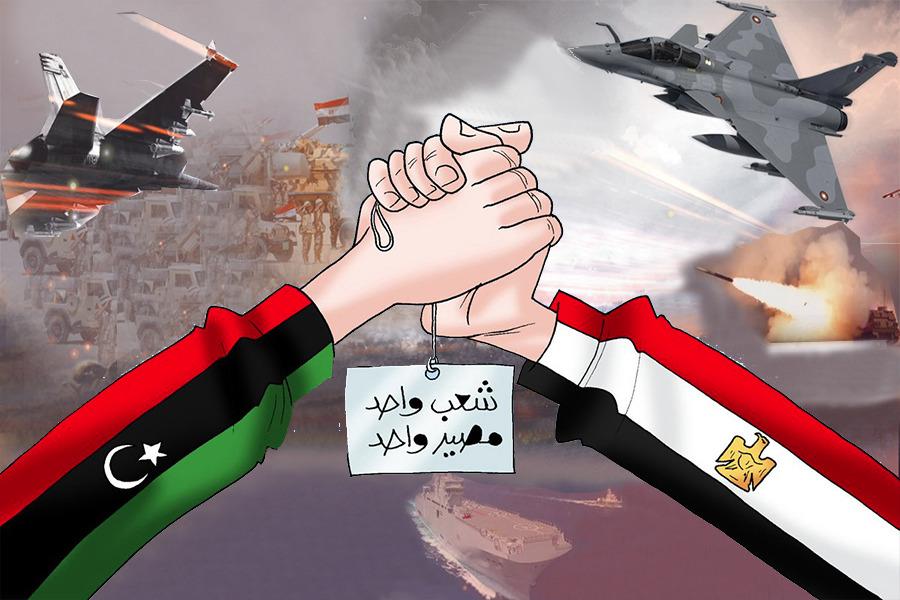 مسافة السكة.. مصر وليبيا شعب ومصير واحد