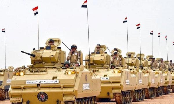 هاشتاج كلنا الجيش المصري يتصدر مواقع التواصل بعد موافقة البرلمان لتنفيذ مهام خارج الحدود