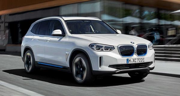 بسيارة كهربائية جديدة.. بي إم دبليو تطرح أيقونتها الجديدة BMW iX3
