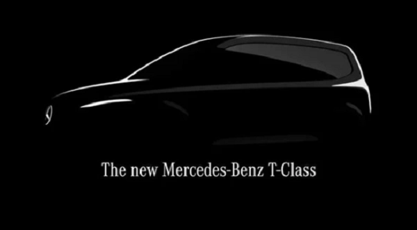 مرسيدس تطرح أول صورة تشويقية لأحدث طرازاتها T-Class