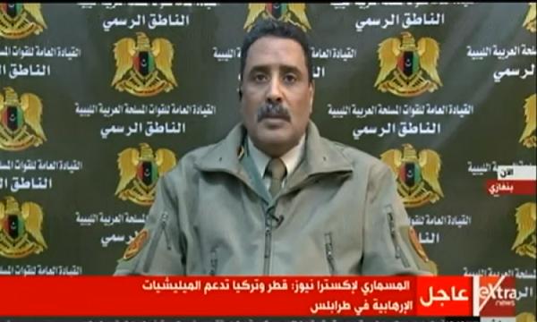متحدث الجيش الليبي: معركة كبيرة فى سرت والجفرة خلال ساعات