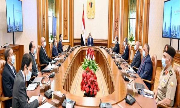 الرئيس السيسي يبحث خطة نقل الوزارات وأجهزة ومؤسسات الدولة للعاصمة الإدارية