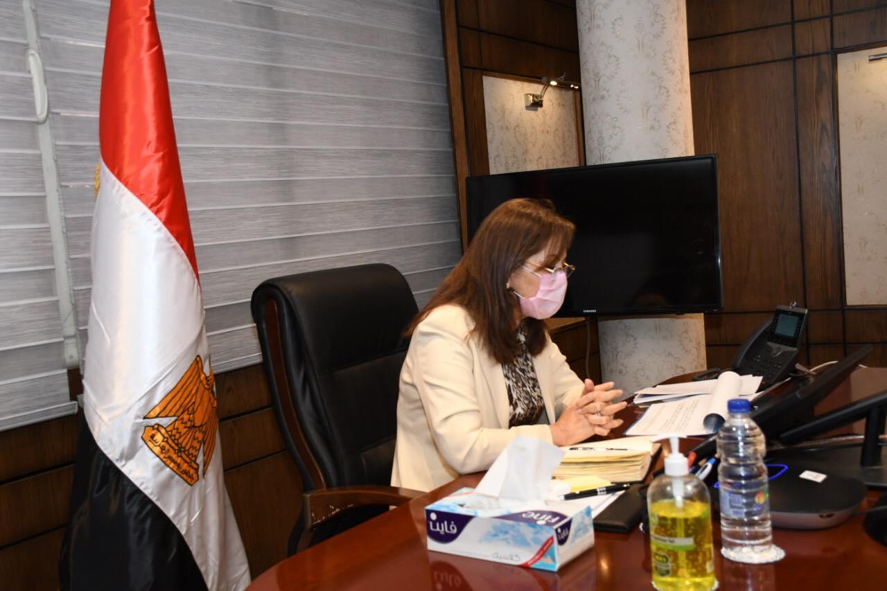صور | وزيرة التخطيط ترأس الاجتماع الرابع لمجلس إدارة معهد التخطيط القومي