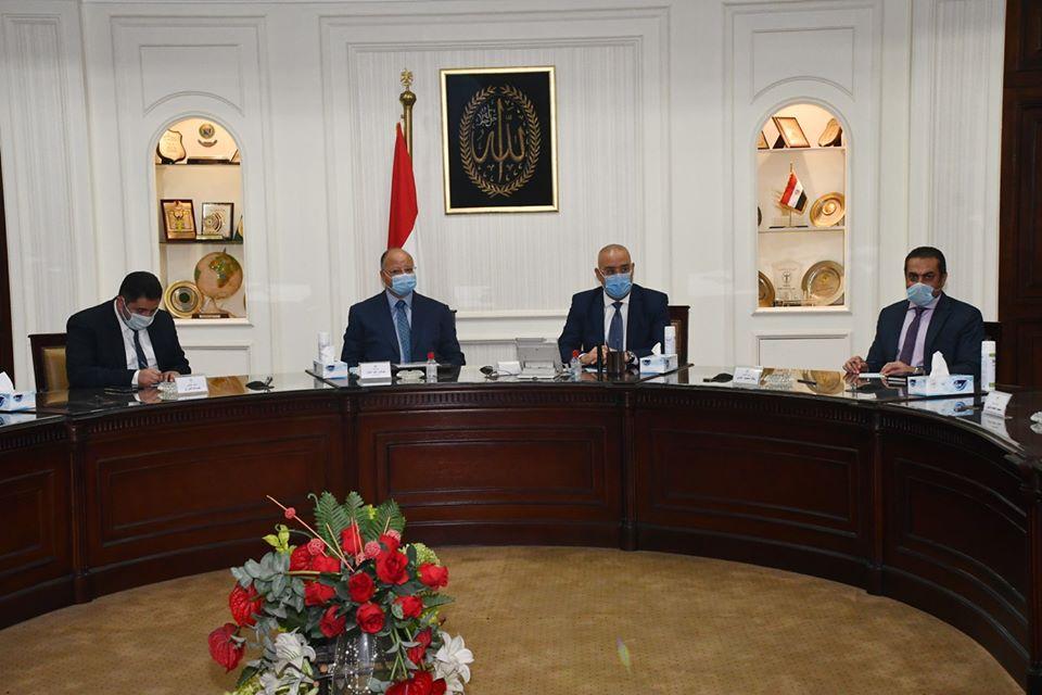 وزير الإسكان ومحافظ القاهرة يستعرضان المُخطط المقترح لمشروع تطوير كنيسة العذراء بحى الزيتون