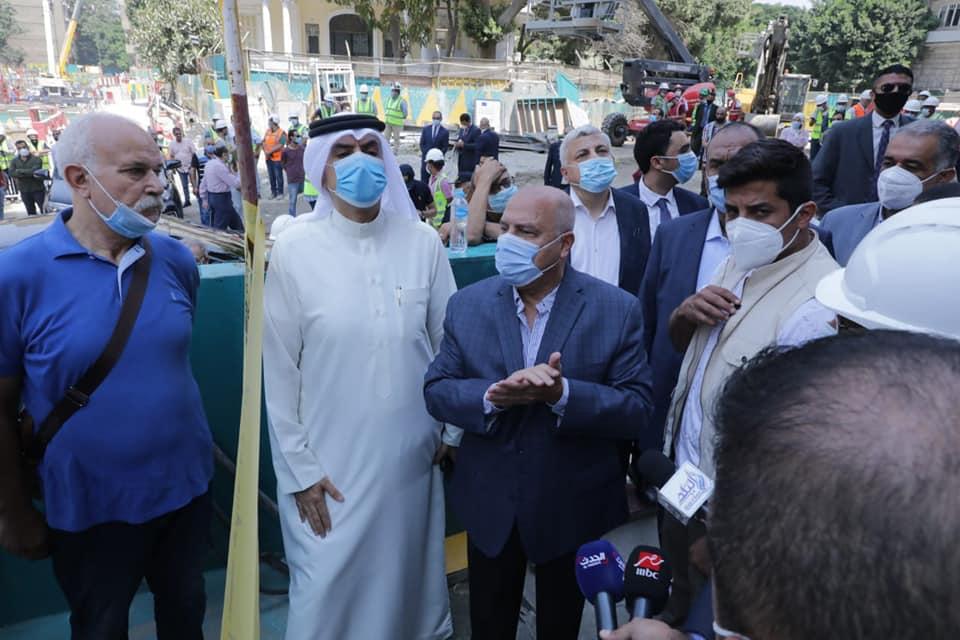 صور | وزير النقل يتفقد محطة صفاء حجازي بالزمالك ضمن المرحلة الثالثة من مترو الأنفاق