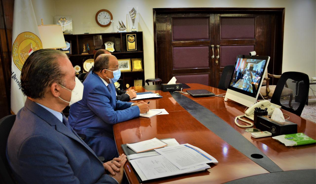 وزيرا الري والتنمية المحلية يبحثان التعاون في مشروع تأهيل وتغطية الترع والمصارف