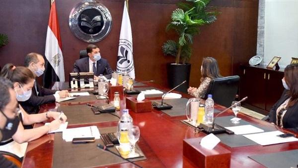 رئيس هيئة الاستثمار يلتقي مسئولي شركة مارس ريجلي الأمريكية