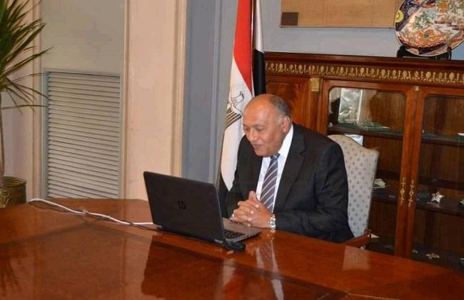 وزير الخارجية يتلقى اتصالاً هاتفياً من مفوض الاتحاد الأوروبي لسياسة الجوار