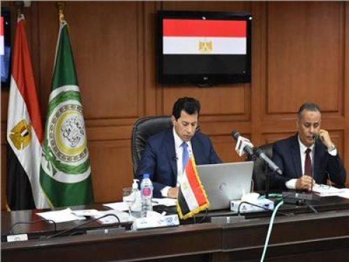 أشرف صبحي يشهد افتتاح اجتماع مجلس وزراء الشباب والرياضة العرب في دورته الـ43