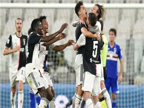 بعد الفوز على سمبدوريا.. يوفنتوس بطلا للدوري الإيطالي