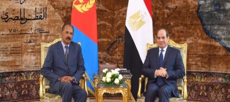 الرئيس السيسي يستقبل نظيره الاريتري في قصر الاتحادية اليوم