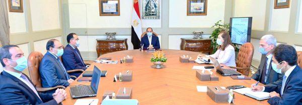 الرئيس السيسى يبحث تطورات واستراتيجية صندوق مصر السيادى