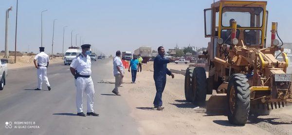 محافظ البحر الأحمر: المرور تُنفذ حارة للخدمة لمركبات النقل على الطرق للحد من الحوادث