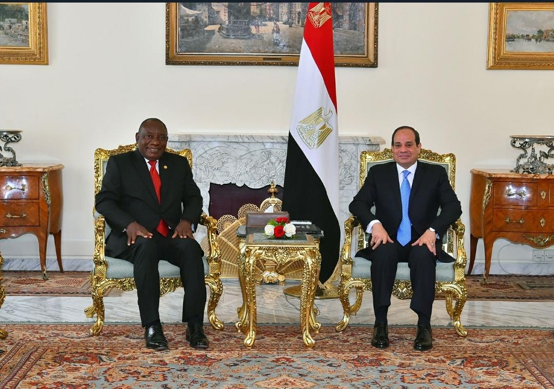 مباحثات الرئيس السيسي ونظيره الجنوب إفريقي حول سد النهضة تتصدر اهتمامات الصحف