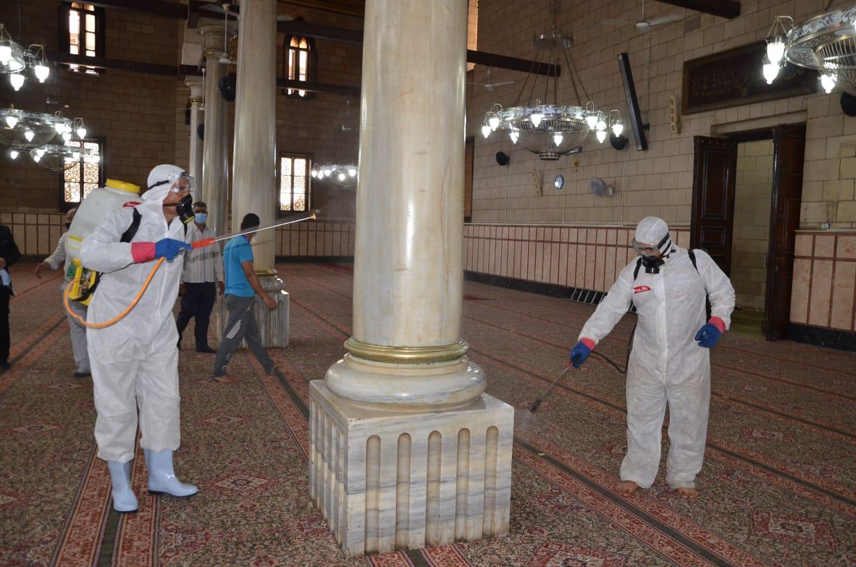 «الأوقاف» توضح حقيقة تحمل المواطنين نفقات تعقيم وتطهير المساجد