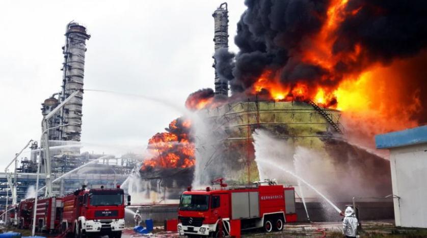 إصابة 6 أشخاص فى انفجار بمصنع للألعاب النارية جنوب غربى الصين