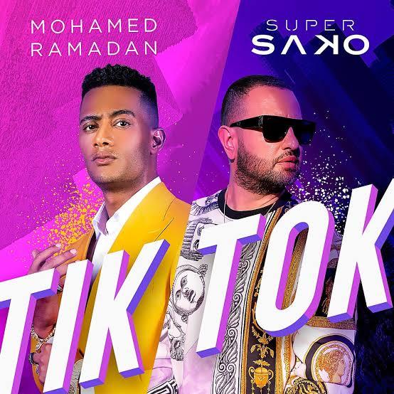 محمد رمضان يحتفل بوصول أغنية تيك توك لـ10 ملايين مشاهدة