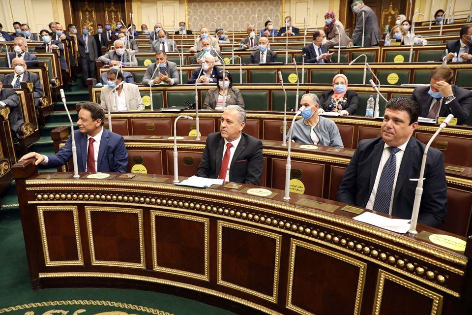 صور | رؤساء الأعلى للإعلام وهيئتي الصحافة والإعلام يؤدون اليمين أمام النواب