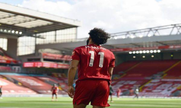 ليفربول يحتفى بأرقام محمد صلاح بعد 116 مباراة فى البريميرليج