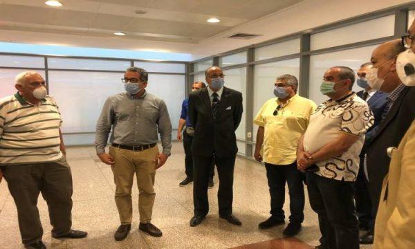 وزيرا الطيران والسياحة والآثار يتفقدان متحف مطار القاهرة الدولى