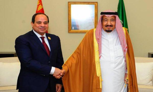 الرئيس السيسي يهنئ الملك سلمان بعيد الأضحى