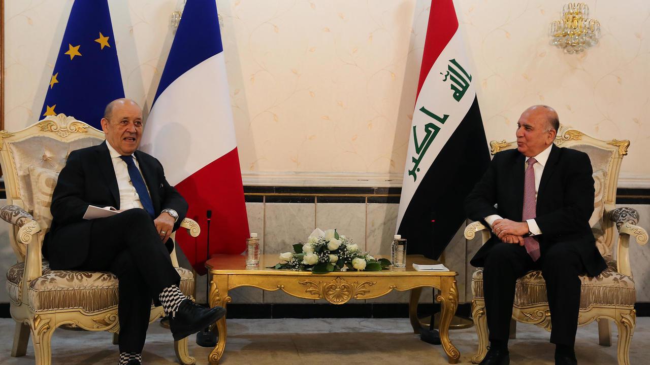 وزير الخارجية الفرنسي: لا يمكن التفريط في سيادة العراق