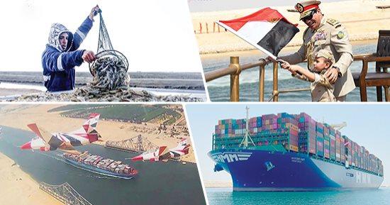 5 سنوات على توسعة قناة السويس.. شريان الملاحة الدولية المصري
