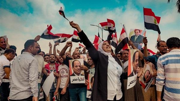 الشعب المصري هو حزب الرئيس السيسي.. حد له شوق في حاجة