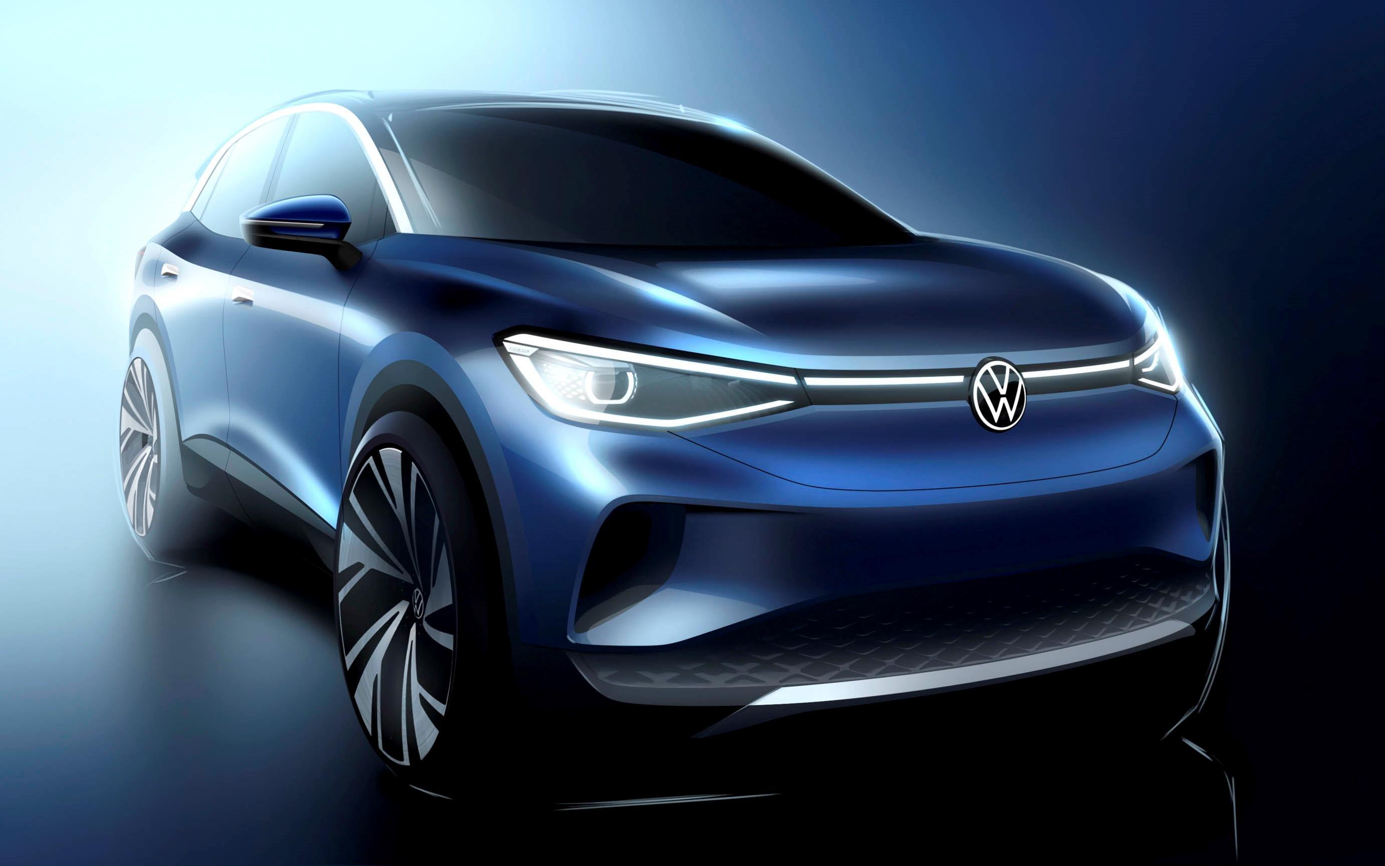 شاهد| تصميمات أول SUV كهربائية من فولكس فاجن