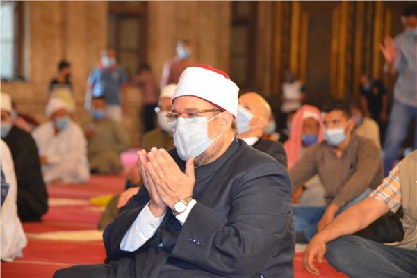 """الأوقاف: """"النور في القرآن الكريم"""" موضوع خطبة الجمعة القادمة"""