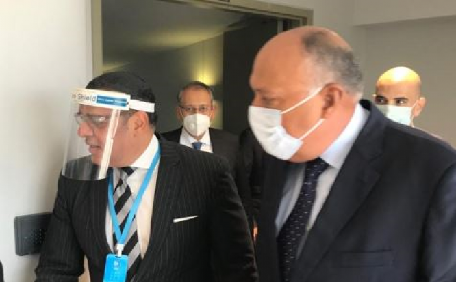 شكري : الرئيس السيسي يولي لبنان اهتماما كبيرا ويحرص على مصالح شعبه