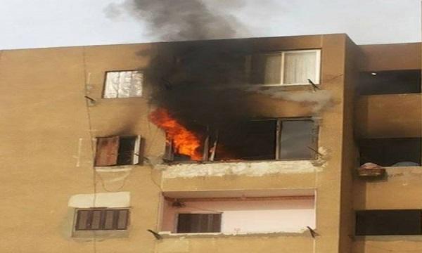 السيطرة على حريق شقة سكنية بحدائق الأهرام