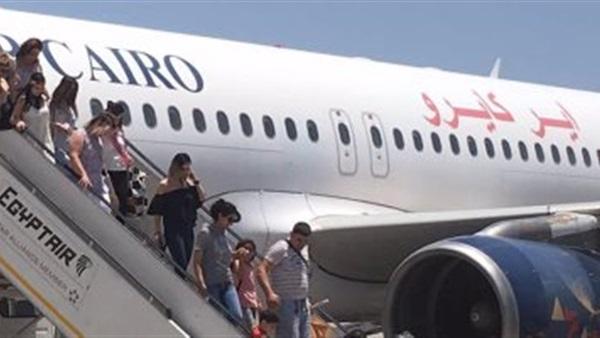 """""""إير كايرو"""" تعلن توقف جميع رحلاتها إلى الكويت"""
