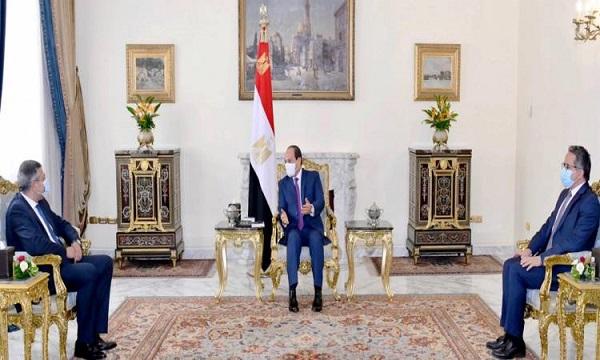 الرئيس السيسى يستقبل أمين عام منظمة السياحة العالمية