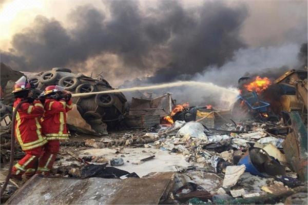 الجيش اللبناني: آمال العثور على ناجين من انفجار مرفأ بيروت تتراجع