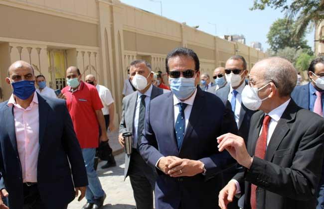 وزير التعليم العالي يتفقد مقر مكتب التنسيق الرئيسي الجديد بجامعة عين شمس