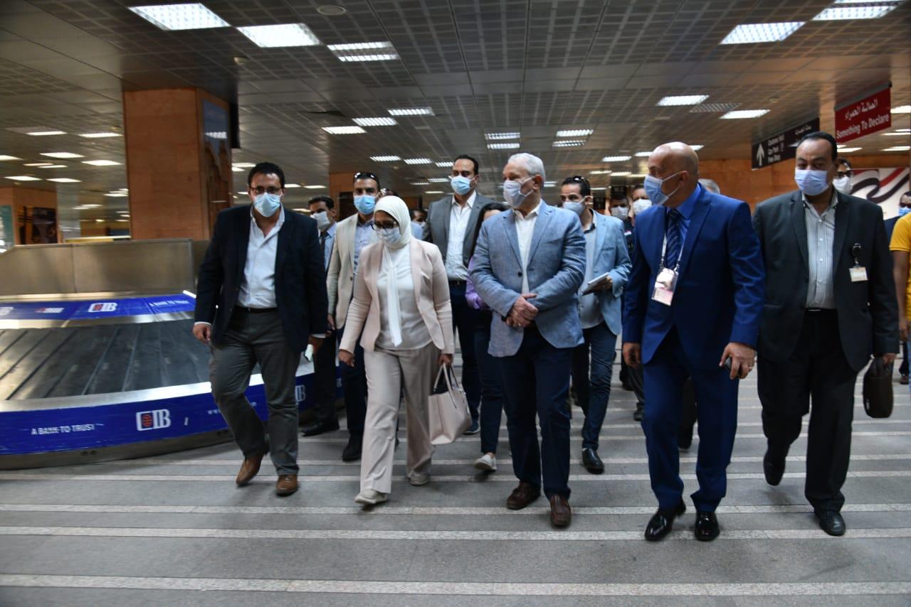 وزيرة الصحة تتابع الاستعدادات النهائية لمنظومة التأمين الصحي الشامل بالاقصر