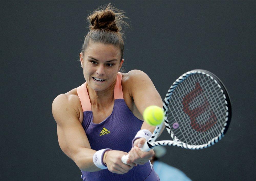 ساكاري : عانيت كثيرا خلال توقف بطولات التنس بسبب فيروس كورونا