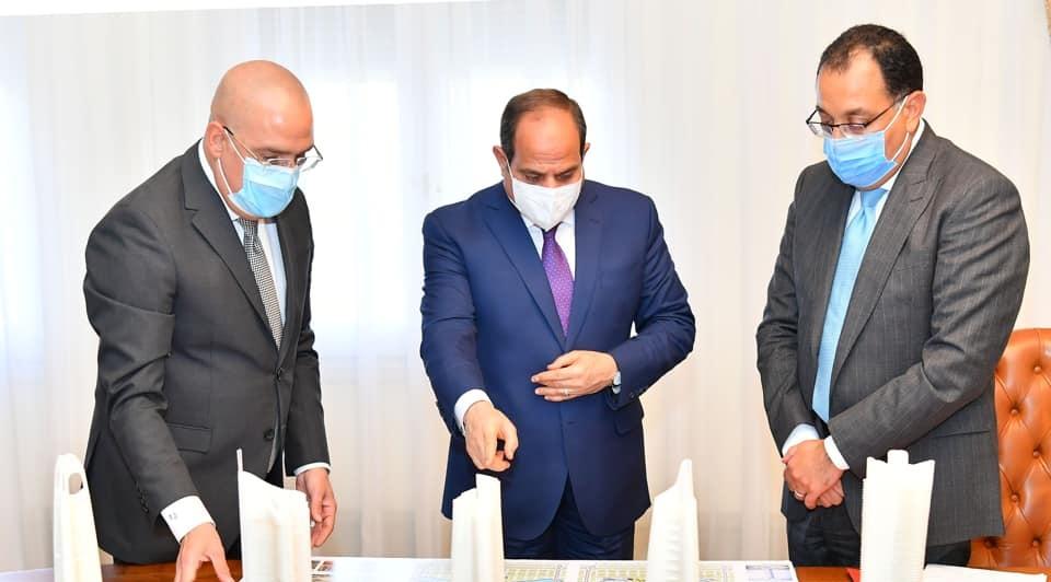 صور | الرئيس السيسي يوجه بالتوسع في مشروعات استراتيجية الدولة لمعالجة وتحلية المياه
