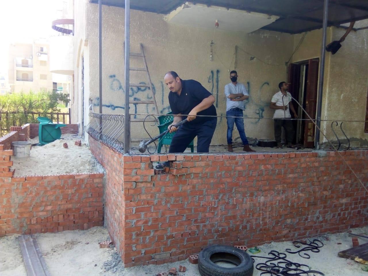 صور | الإسكان: 4 مدن جديدة تشن حملات لإزالة مخالفات البناء ورقع الإشغالات
