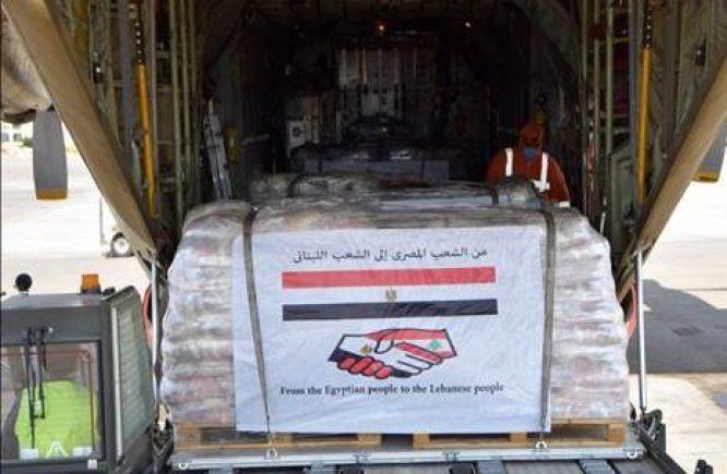 أولى سفن الجسر البحري المصري إلى لبنان تصل غدا إلى بيروت