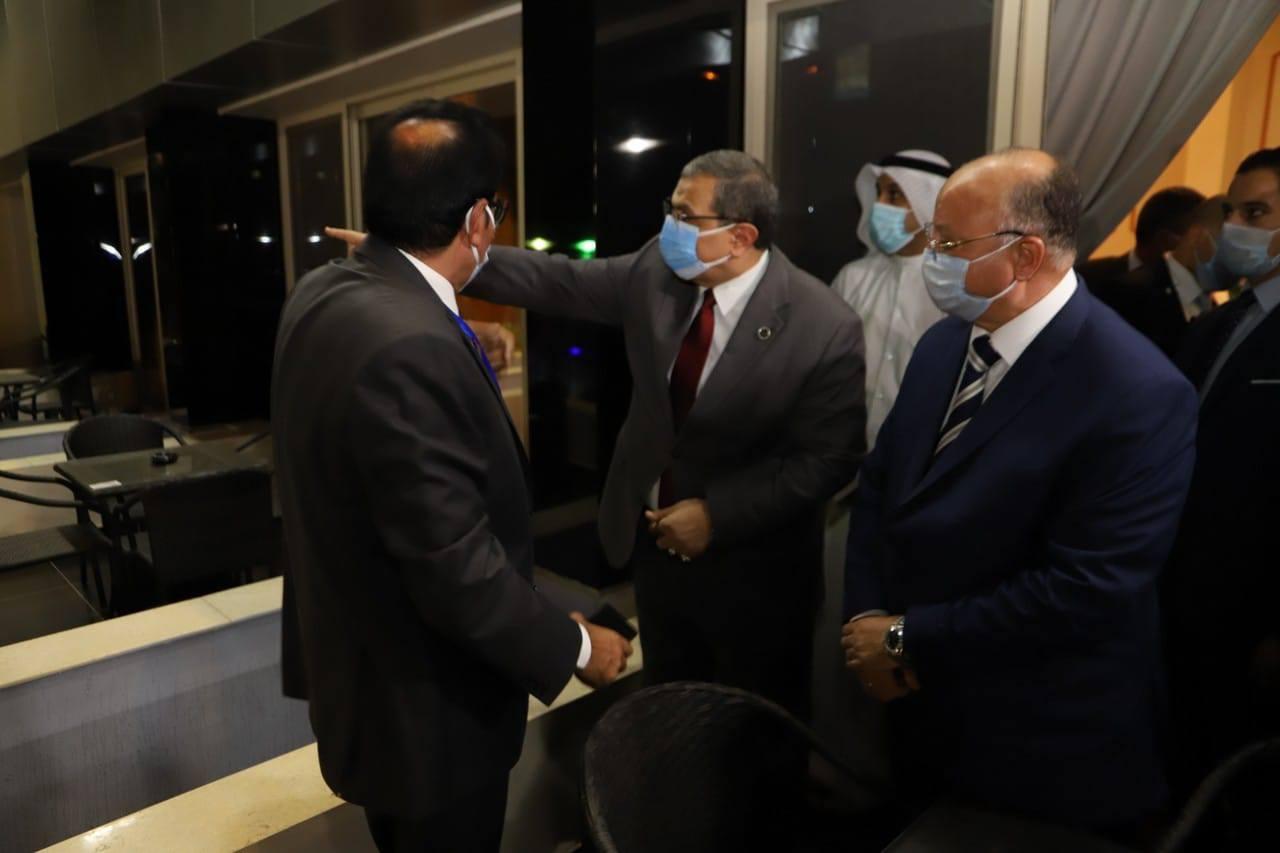 صور | وزير القوى العاملة ومحافظ القاهرة يفتتحان فندق نقابة العاملين بالغزل والنسيج