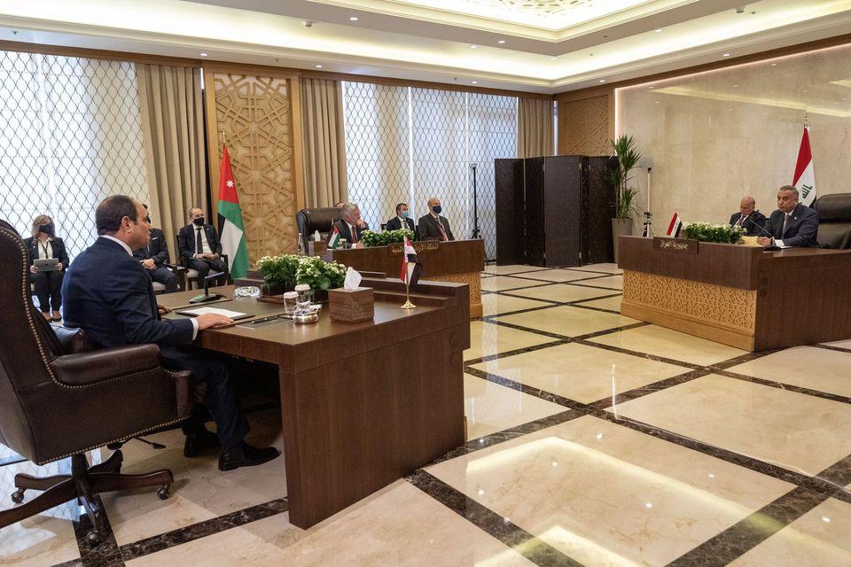 مشاركة الرئيس السيسي بالقمة المصرية الأردنية العراقية تتصدر النشاط الرئاسي الأسبوعي