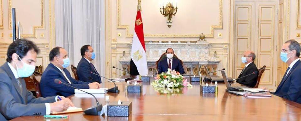 الرئيس السيسي يوجه الهيئة الهندسية للقوات المسلحة بتجديد مجمع محاكم الجلاء
